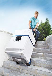 Platformele electrice mobile Sano - masina de spalat